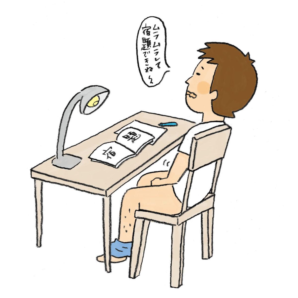 性知る?vol.02 ヒカルくんがオナニーをしているシーン